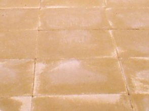 Buff Patio slabs